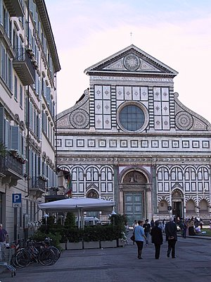 The Florentin markets are right in the heart of rich history - Santa Maria Novella